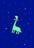Gommette le dinosaure amoureux des étoiles