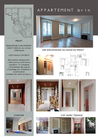 RECONSTRCUTION APPARTEMENT BRIN - T4