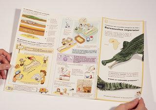 Plaquette pédagogique sur le Sarcosuchus imperator