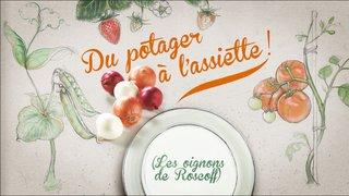 """Illustrations animables pour le générique de l'émission """"Du potager à l'assiette"""""""