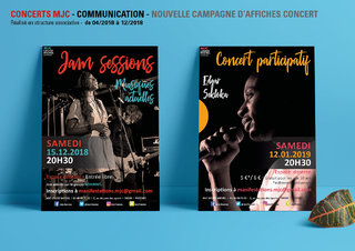 Affiches concerts