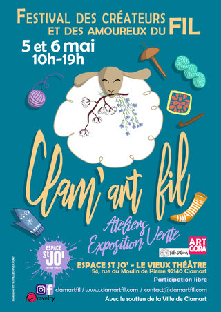 Affiche Clam'art Fil 2018