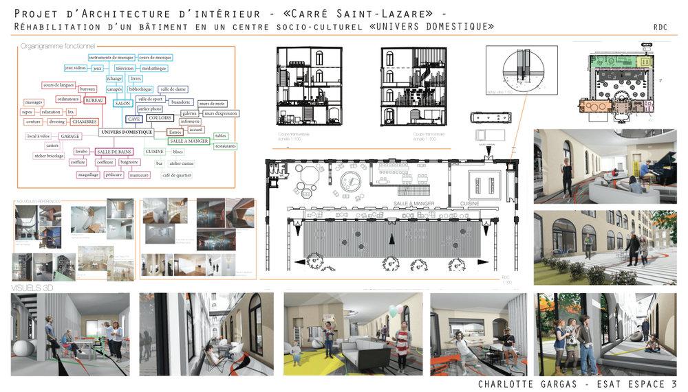 Charlotte gargas portfolio architecture d 39 int rieur for Architect d interieur
