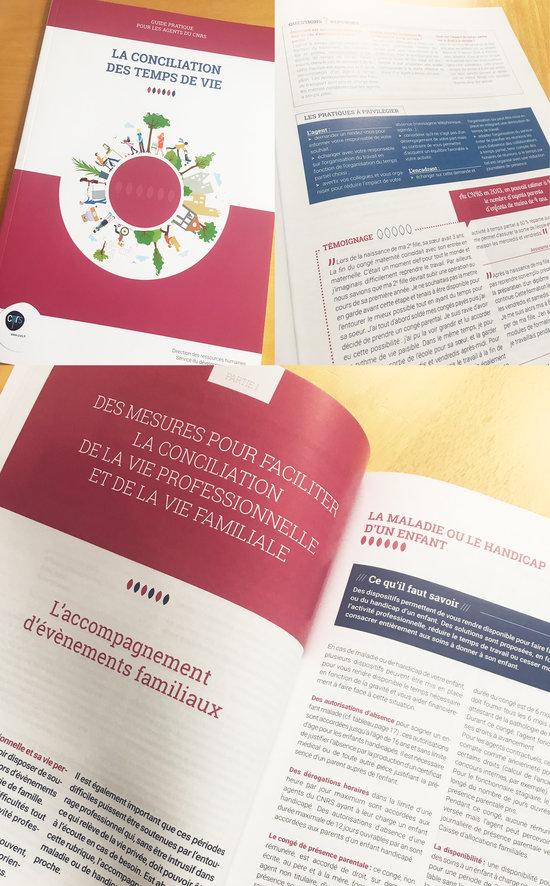 CNRS guide RH conciliation des temps de vie