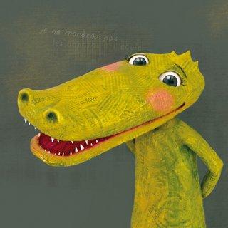 Portrait d'un crocodile