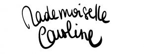 Book de Mademoiselle Caroline Portfolio :Nouvelle rubrique