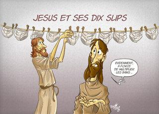 Jésus et ses 10 slips