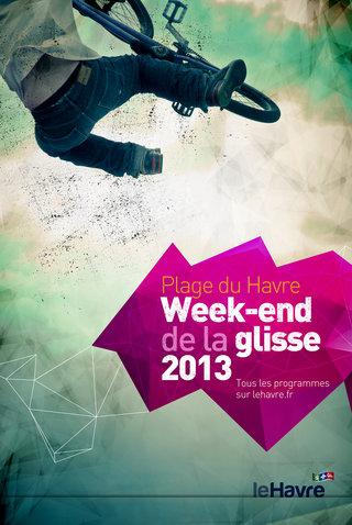 Affiche Week-end de la glisse 2013
