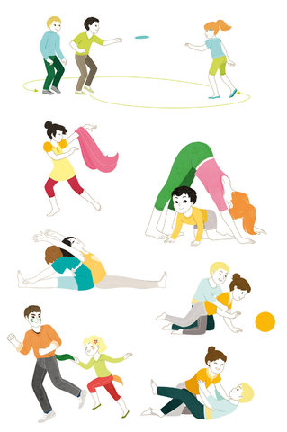 Une année d'activités sportives, chez Mango