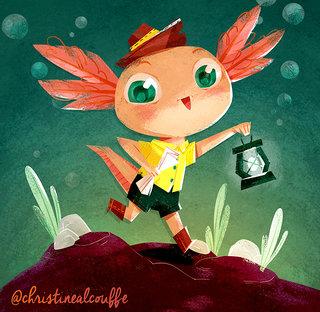 Axolot - Illustration personnelle