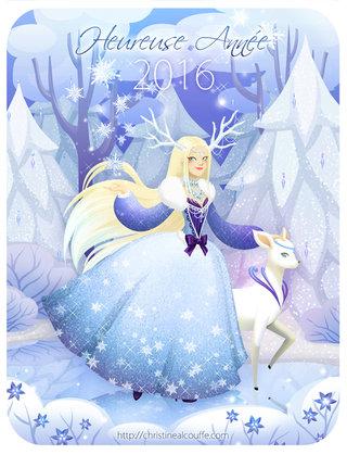 Bonne année 2016 ! - Illustration personnelle