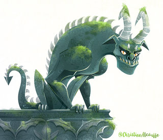 Gargouille - Illustration personnelle