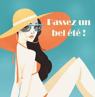 Bon été ! - Illustration personnelle