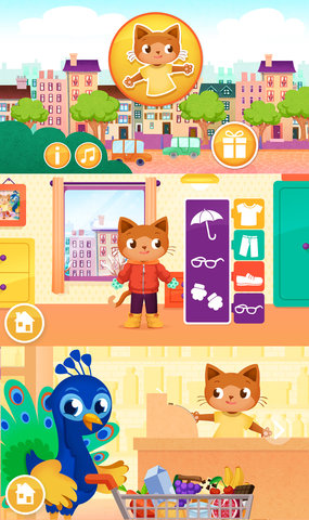 Jeux application mobile persian city - Iboo interactive