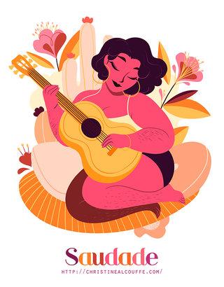 Saudade - Illustration personnelle