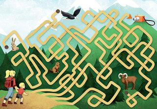 Labyrinthe pour Auzou