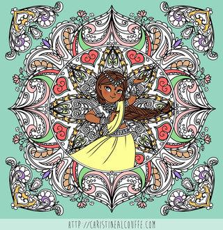 Mandala - Illustration Personnelle