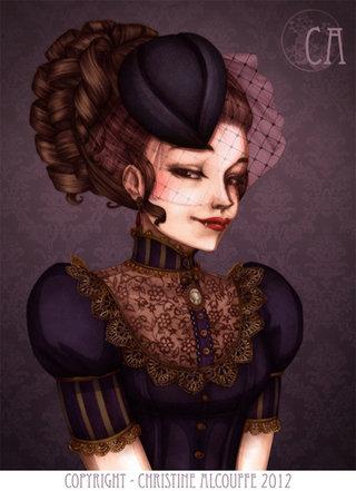 Vampire - Illustration personnelle