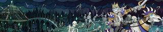 Frise pour Au delà des portes, extension de Paper Tales - édité chez CatchUp games