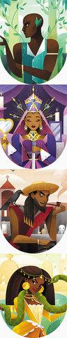 Personnages du jeu Baron Voodoo