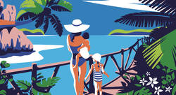 Club Med / Seychelles - Christophe Gomy-illustrateur