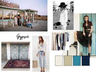 Gypset mood board