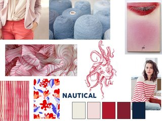Nautical mood board