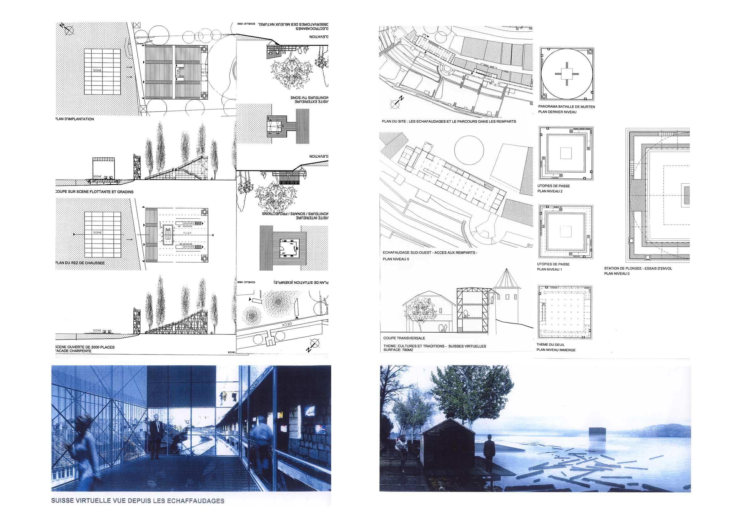 book de cyril lechevalliersc u00e9nographie   1999 jean nouvel - expo 02