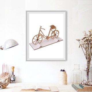Création carton ondulé Vélo