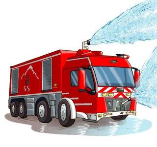 Imagerie des pompiers