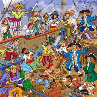 Imagerie des pirates