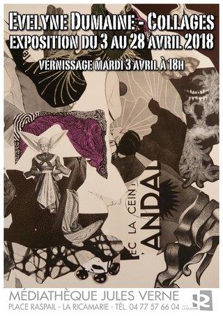 Exposition médiathèque de la Ricamarie