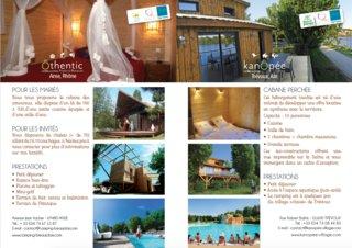 Brochure intérieur / Camping