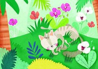 La gata i el ratolí