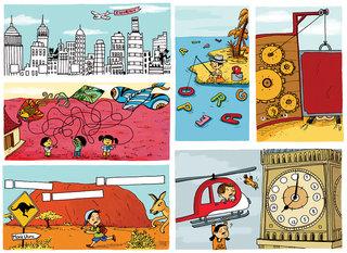Pages de jeux pour Milan Presse.