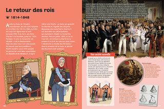 Roi et reines de France Editions Milan 2014