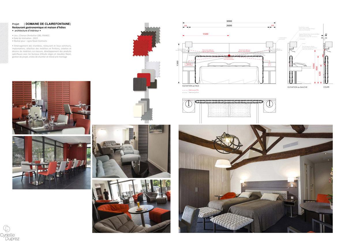 Book Architecte D Intérieur cyrielle duprez : portfolio :extraits de portfolio professionnel