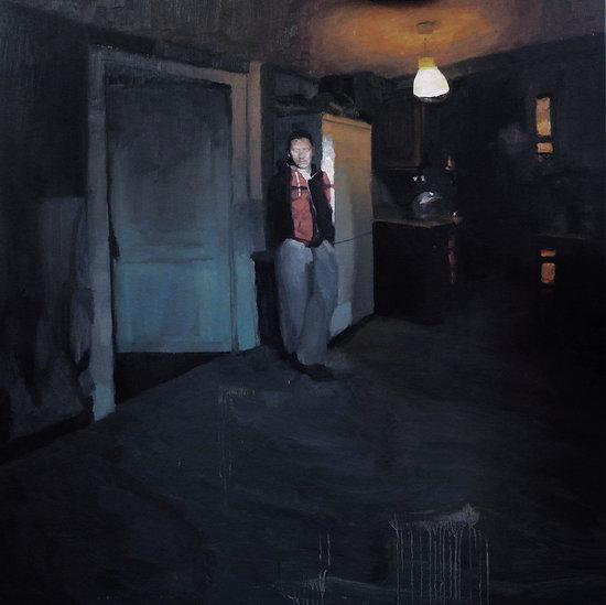 """""""Autoportrait dans la cuisine""""/""""Kitchen self-portrait"""""""