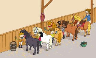 Mes docs Sport - j'apprends l'équitation 04