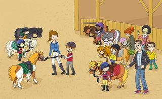 Mes docs Sport - j'apprends l'équitation 03