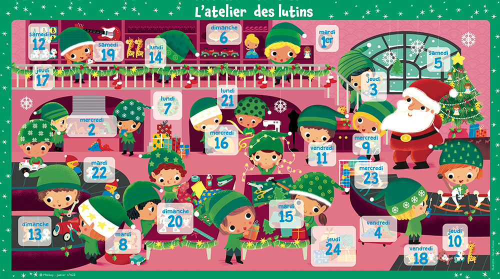 Calendrier Avent - Mickey Journal n°423