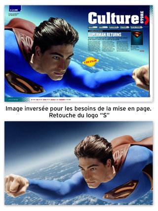 Ouverture conso culture Superman