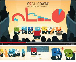 Publicity animation (ClicData)