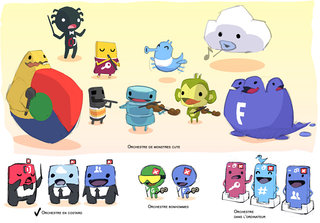 Character designs (ClicData)
