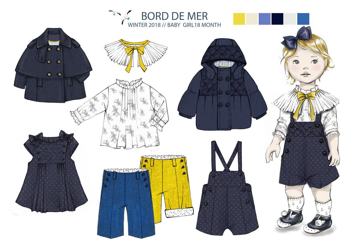 portfolio de delphine amadieu portfolio  mode enfant