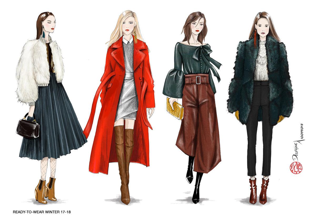 portfolio de delphine amadieu portfolio  mode femme