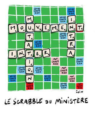 Le scrab du ministère