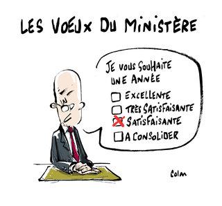 Les voeux du ministre