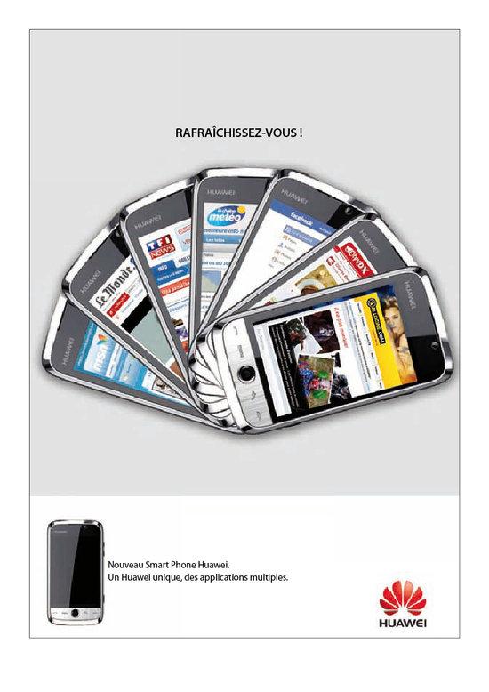 Annonces presses Huawei