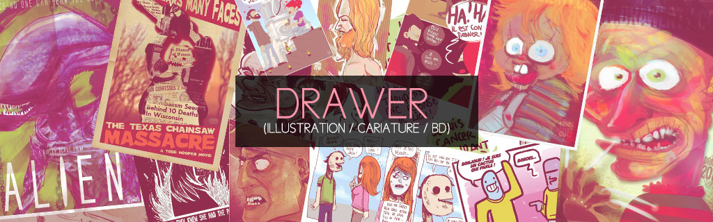 Drawer's book Portfolio :
